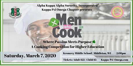 AKA Sorority, Inc. - Kappa Psi Omega 2020 Men Who Cook Tickets tickets