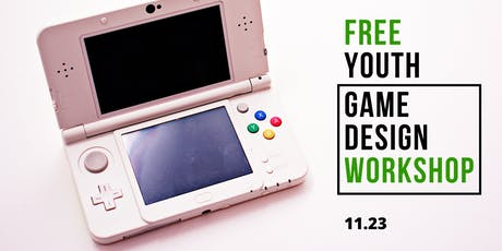 Free Youth Game Design Workshop tickets
