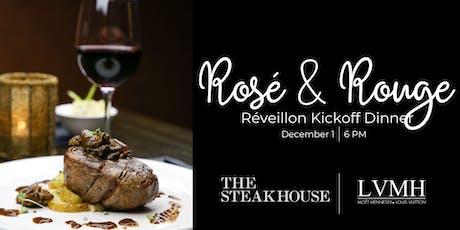Rosé & Rouge Réveillon Kickoff Dinner tickets
