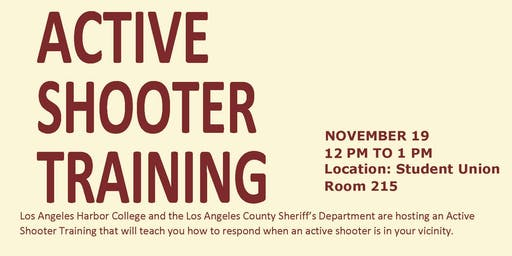 LAHC ACTIVE SHOOTER TRAINING