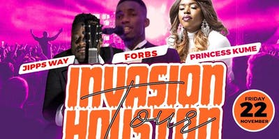 Invasion Houston Tour - FORBS Nov. 22 at Marie African Flavors