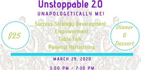 CROWNED: Unstoppable 2.0 - Unapologetically Me! tickets