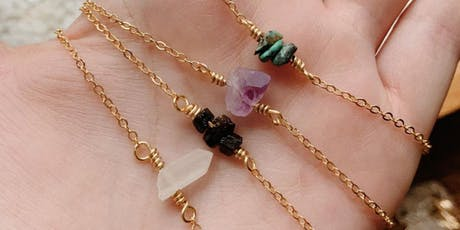Crystal Bar Necklace Workshop with Eaarthbones + Makers of Maryland tickets