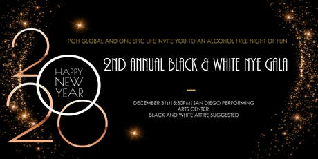 Black and White New Year's Eve Gala tickets