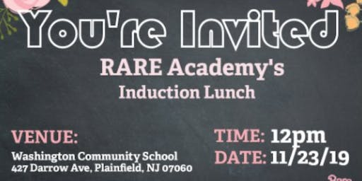 RARE Academy Induction Lunch 2019