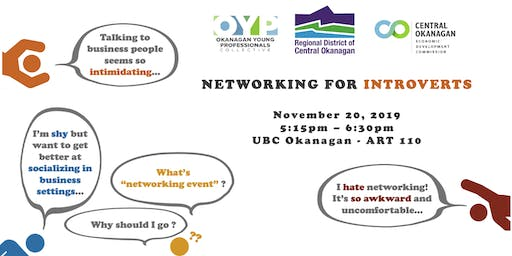 Networking for Introverts - An OYP Student Event