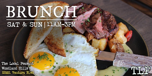 Weekend Brunch at The Local Peasant Woodland Hills!