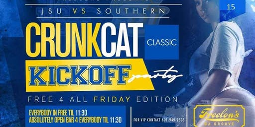 JSU Vs Southern Crunkcat Classic Kickoff Party