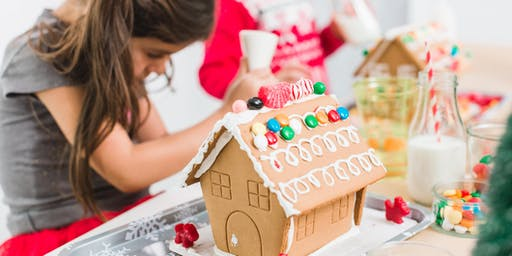 Yuba Sutter Mall Gingerbread House making fundraiser for Toys for Tots