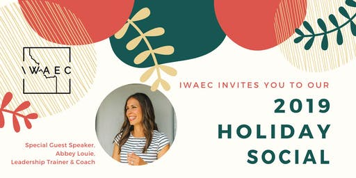 IWAEC 2019 Holiday Social