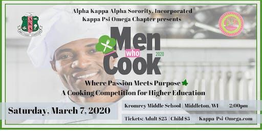 Kappa Psi Omega 2020 Men Who Cook Sponsorship & Vendor Packages