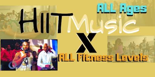 Half Fun-Filled Workout/ Half Zumba (HIIT Music X)