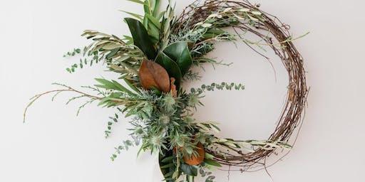 Christmas Wreath Making Class