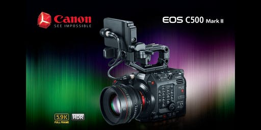 Canon C500 MarkII hands-on at Hot Rod Cameras
