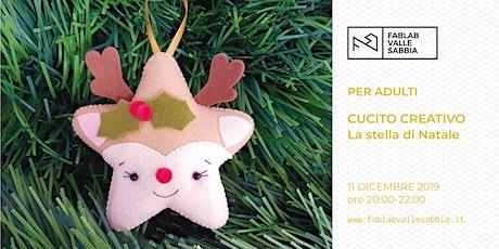 Cucito creativo a tema natalizio biglietti