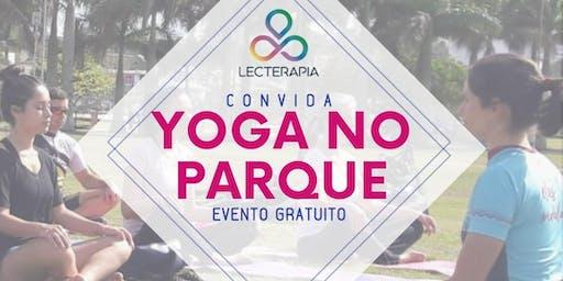 Yoga no Parque, no Parque de Coqueiros, Florianópolis