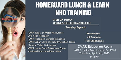 HomeGuard NHD Training