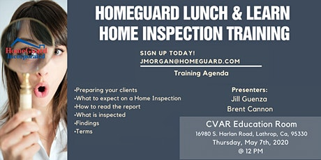 HomeGuard Home Inspection Training tickets