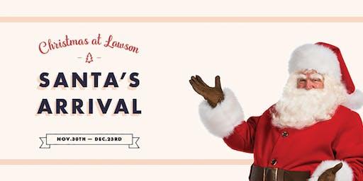 Milk + Cookies with Santa