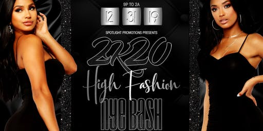 3rd Annual High Fashion NYE Mega Bash