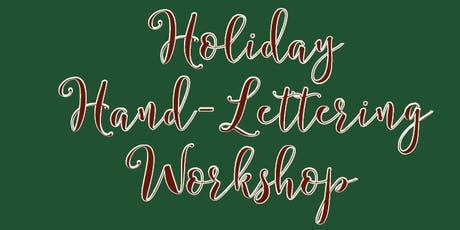 Holiday Hand-Lettering Workshop tickets