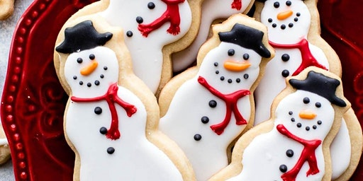 Boozy Christmas Sugar Cookie Class- EVENING
