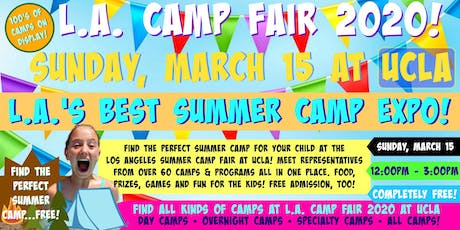 L.A. Camp Fair 2020 at UCLA tickets