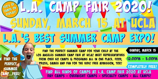 L.A. Camp Fair 2020 at UCLA