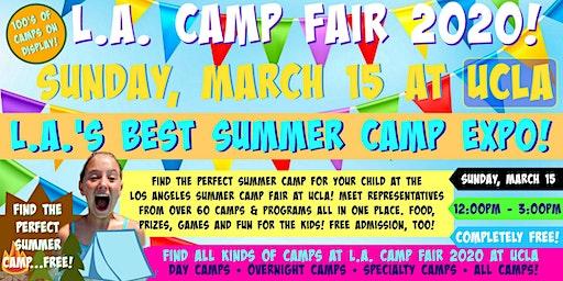 L.A. Camp Fair 2020 at UCLA