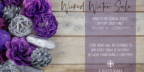 Wicked Winter Sale: 35% Off Everything* tickets