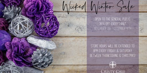 Wicked Winter Sale: 35% Off Everything*