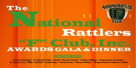 National Rattler F Club, Inc. Awards Gala & Dinner tickets