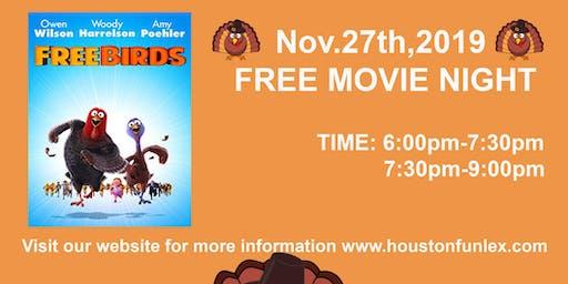 Nov.27th,2019- FREE MOVIE Free Birds
