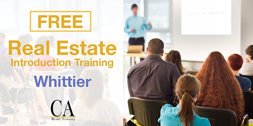Free Real Estate Intro Session - Whittier