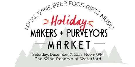 Holiday Makers + Purveyors Market tickets