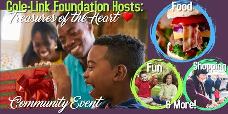 Cole-Link Foundation Hosts: Treasures of the Heart, Community Event tickets