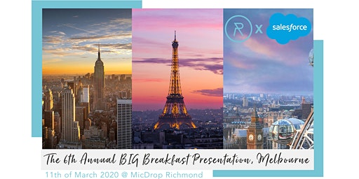 The RetailOasis 6th Annual BIG Breakfast Melbourne