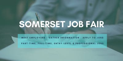 Somerset Job Fair - October 20, 2020 - Career Fair