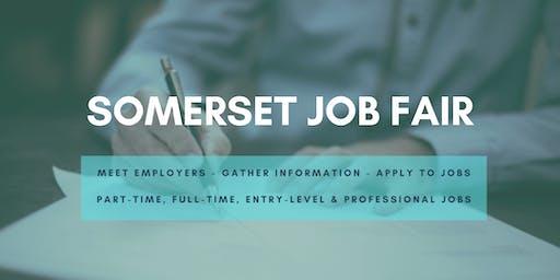 Somerset Job Fair - January 14, 2020 - Career Fair