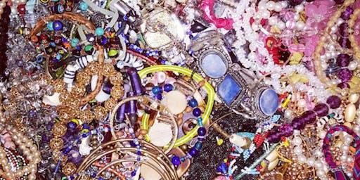 Repurposed Materials Jewelry Making