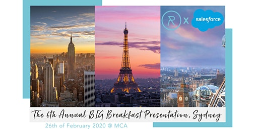 The RetailOasis 6th Annual BIG Breakfast Sydney