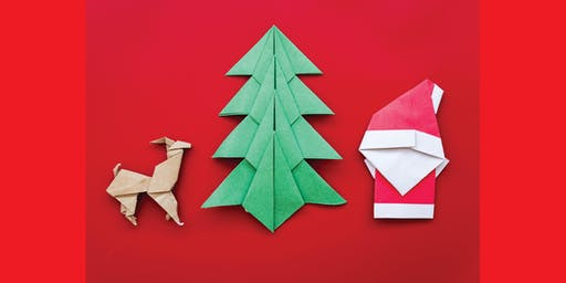 Origami Christmas decorations - Kyneton