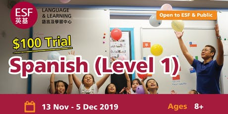 ESF Spanish Level 1 Trial Class tickets
