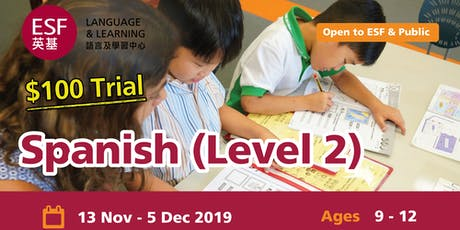 ESF Spanish Level 2 Trial Class tickets