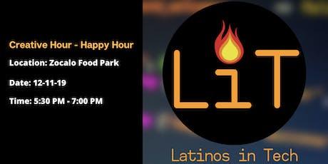 LIT: Creative Hour - Happy Hour tickets