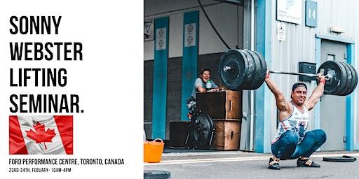 Sonny Webster- Olympic Lifting Seminar Toronto