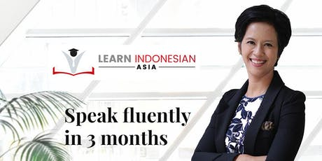 Conversational Indonesian Language for Business (Beginners) - Wed 8 Jan 2020 tickets