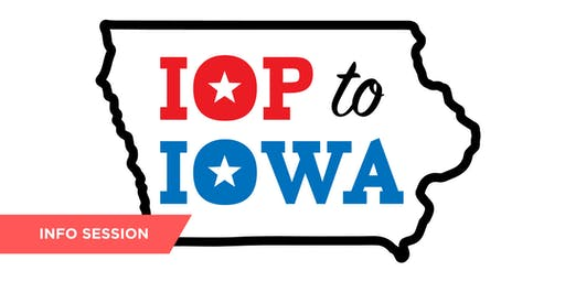 IOP to Iowa: Caucus Trek Info Session