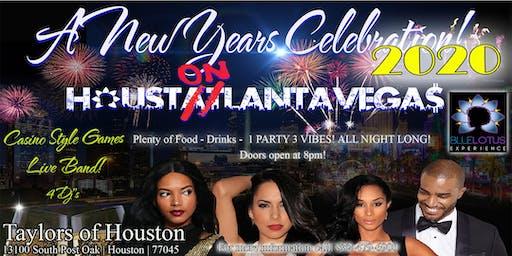 HOUSTONLANTAVEGAS 2020 New Year's Eve  Celebration @ Taylor's