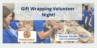 Banner Health at Angeles del Barrio Gift Wrapping Night!